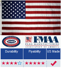 sungrocentre.info: 6ft x 10ft Superstream Sewn Nylon American Flag: Outdoor Country Flags: Garden What other items do customers buy after viewing this item?.